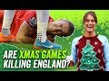 Are Christmas Games killing England?