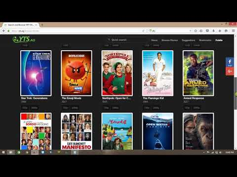 How To Download  Movie Torrent File Form Yify Com