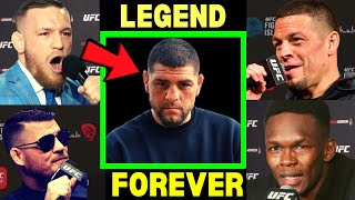 """What UFC Fighters """"Really"""" think about Nick Diaz?"""