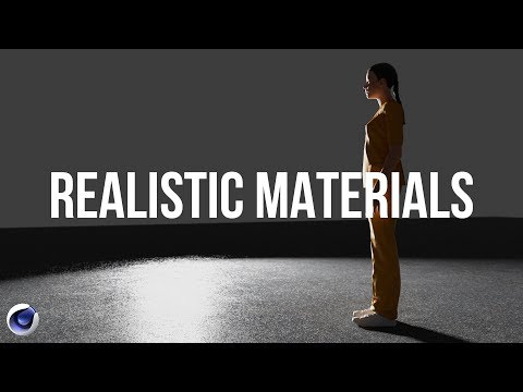 Realistic Materials in Cinema 4D Physical Render