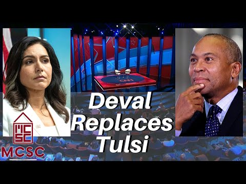 CNN Keeping Tulsi Gabbard Out Of Another Town Hall...No Worries..Deval Patrick Will Take Her Place