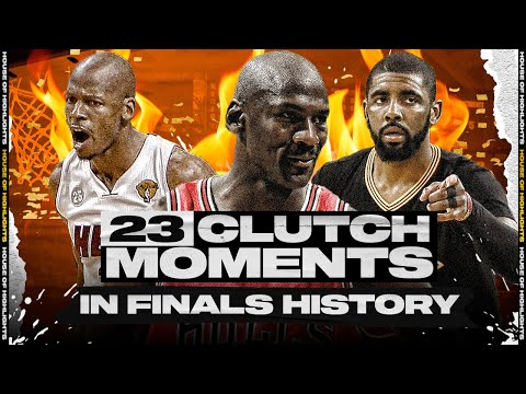 The 23 Most Clutch Moments in NBA Finals History!
