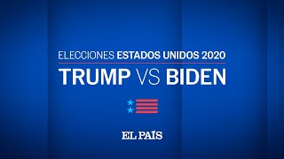 #ELECCIONES EEUU 2020 | TRUMP contra BIDEN, PROGRAMA ESPECIAL en DIRECTO