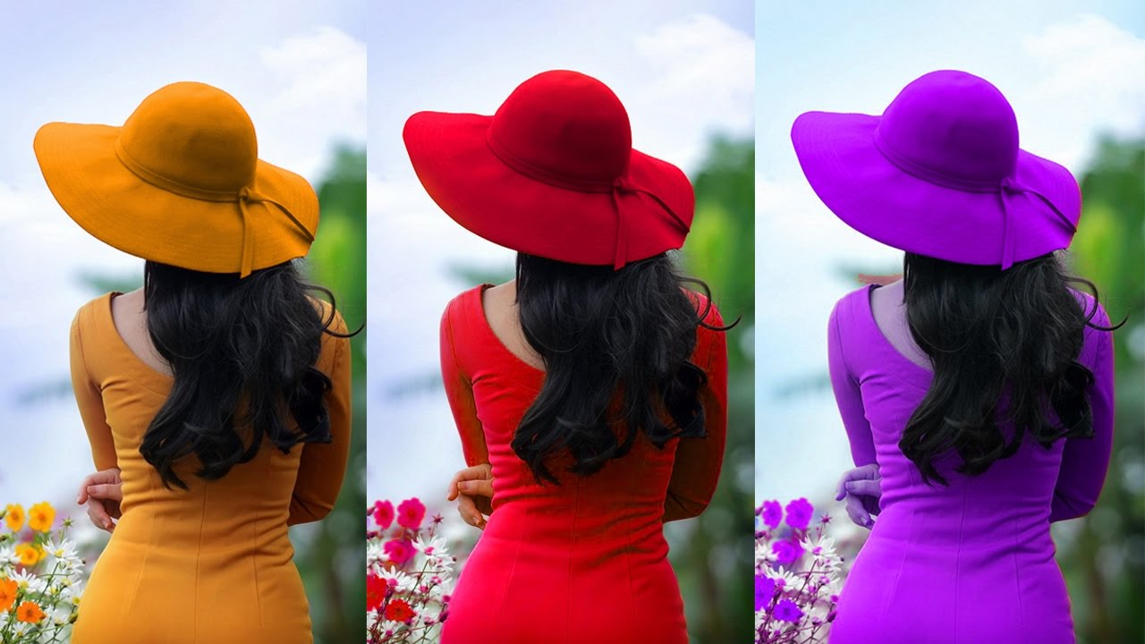 Photoshop Hue/Saturation effect | how to change and replace color in photoshop