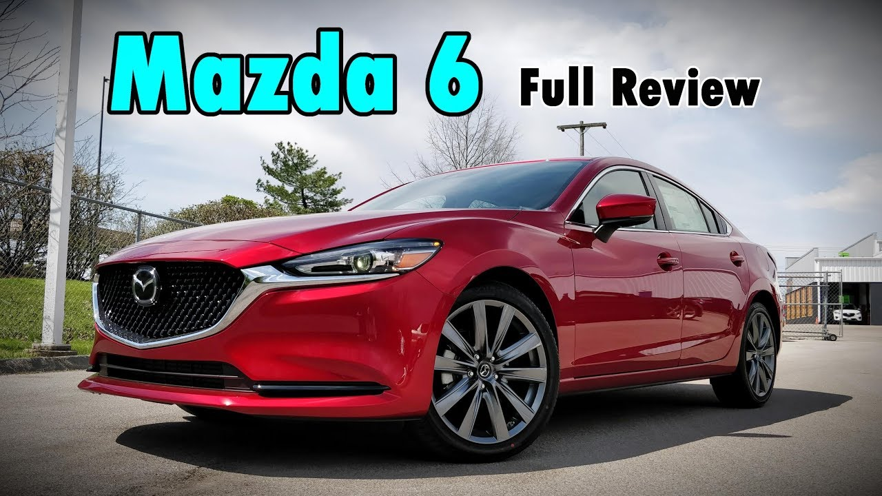 2018 mazda 6 turbo full review signature grand touring touring sport youtube. Black Bedroom Furniture Sets. Home Design Ideas