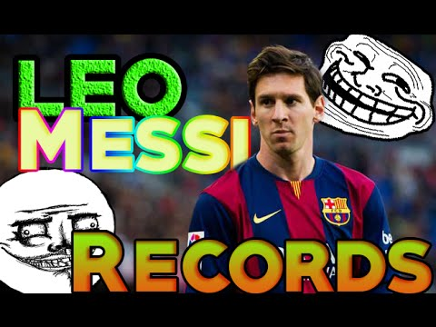 Los records de Lionel Messi 2015-2016 HD