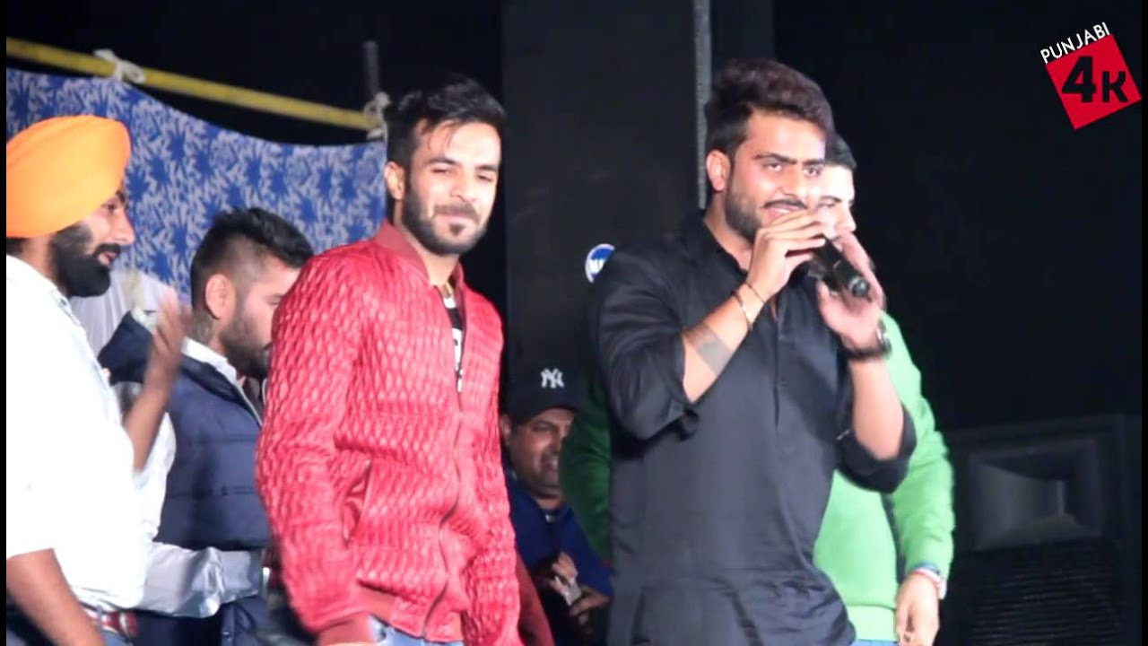 mankirat aulakh amp happy raikoti live in dulchi majra 2015   youtube