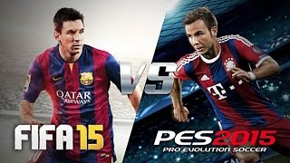 PES 2015: Demo Gameplay PC  FC Barcelona vs Real Madrid.
