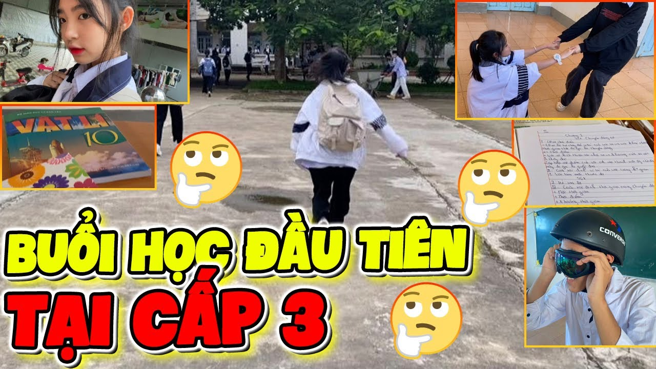 [ Vlog] Buổi Đầu Tiên Đi Học Tại Cấp 3 của NhungDayy như nào ?????