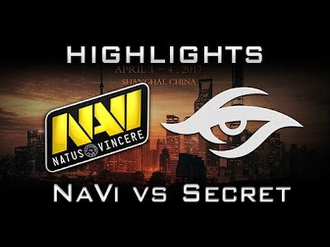Na`Vi vs Team Secret, DAC 2017, game 1, Лучшая игра, Best game, Русские комментаторы