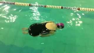Обучение плаванию: упражнение поплавок-звёздочка