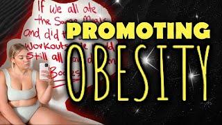 KATE WASLEY || Promoting Obesity || Your Worth Doesn't Change With Your Weight
