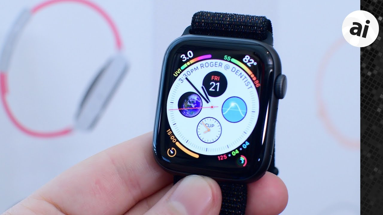 4572a9653fd Hands On with the Apple Watch Series 4! - YouTube