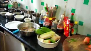 СекретыКитайскойКухни 10. Суп из желудка. пельмени на пару, говядина с овощами