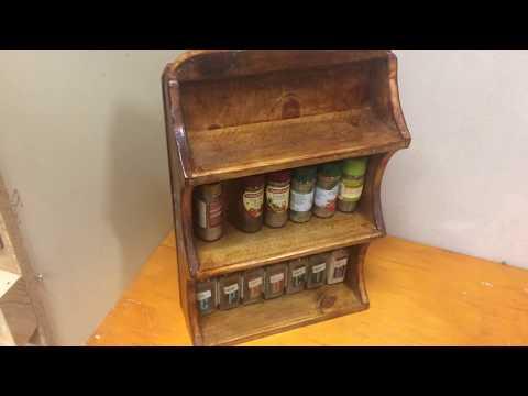 Wonderful Works of Wood (Spice rack edition)