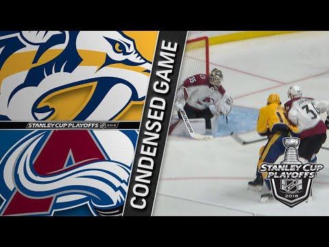 04/20/18 First Round, Gm5: Avalanche @ Predators
