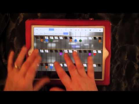 Mobile Harpejji App - Simulator for iPad - Demo and Tutorial