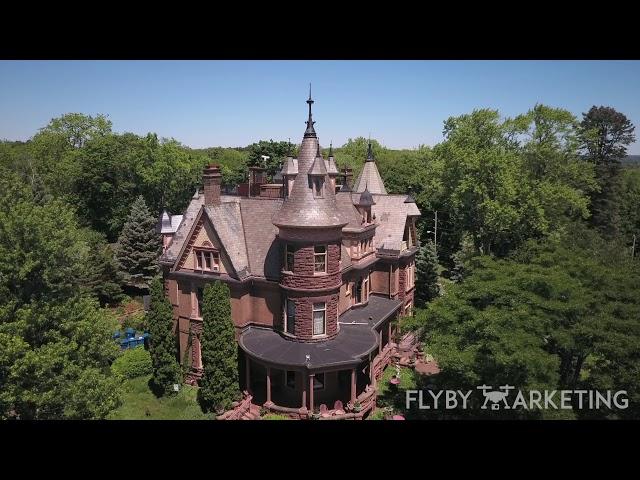 Michigan Drone Marketing | Fly By Marketing | Henderson Castle