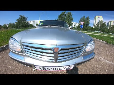 2008 ГАЗ 31105 Волга 2.4 (137) Крайслер POV TEST DRIVE