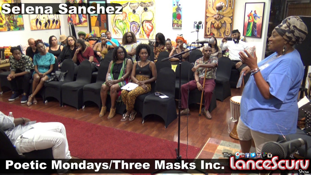 The Charismatic Selena Sanchez Speaks Her Mind At Three Masks Inc. - The LanceScurv Show