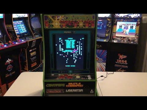 Arcade1up Centipede Partycade HSN exclusive review from Combat and Collecting