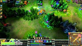 League of Legends Gameplay - Blitzcrank Full Round #2