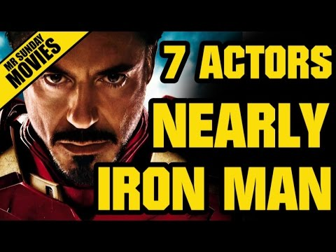 7 Actors Who Were Nearly IRON MAN