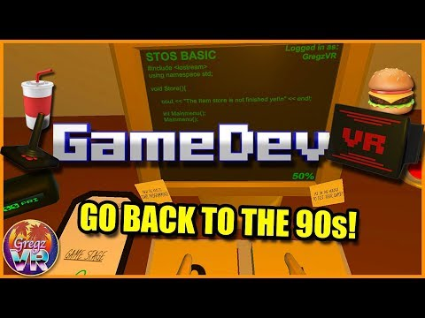 GameDevVR #1: ⌨️ Ride the Early 90s VR Dev Hype Train!