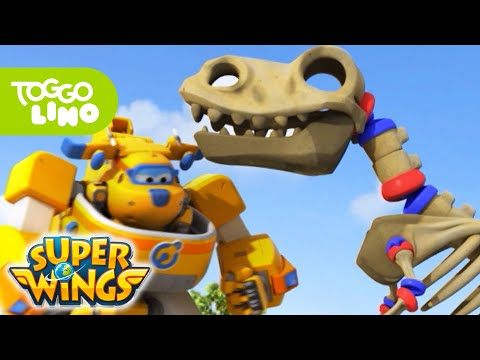 Super Wings   Der Riesendino 🦖🚁🌎   Neue Folge   Toggolinos mutige Freunde