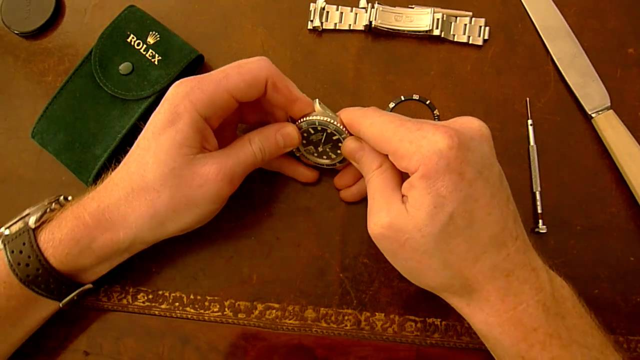 How To Change The Bezel Insert On Your Rolex Submariner Youtube Parts Diagram