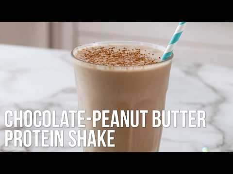 How to Make Chocolate-Peanut Butter Protein Shake | EatingWell
