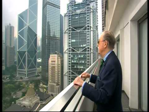 Alan Whicker in Hong Kong  香港