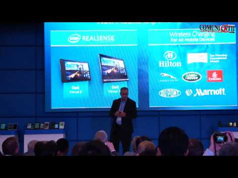 Brian Krzanich, CEO: New Atom Mobile SoCs, LTE Modems, Telco Infrastructure & wireless charging