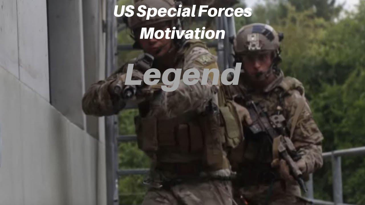 US Special Forces Motivation - Legend