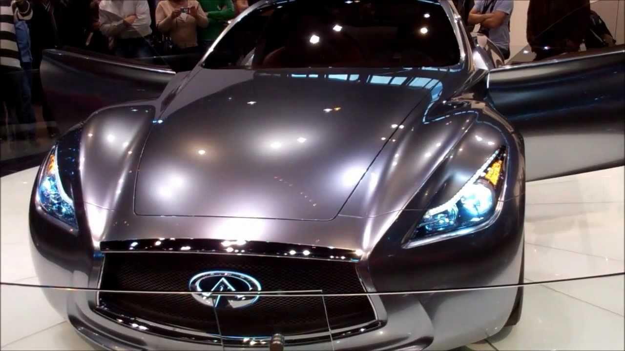 Infiniti infiniti concept car : INFINITI ESSENCE CONCEPT CAR 3.7L V6 - YouTube