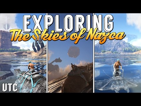 Exploring the Skies of Nazca :: Ark: Survival Evolved Sponsored Mod Map :: Explore + Build :: UTC