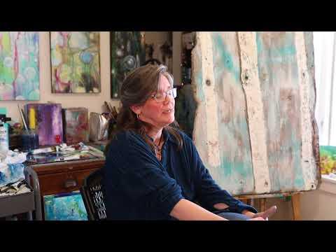 Meet Katerina Evans of the Muddy Creek Artists Guild