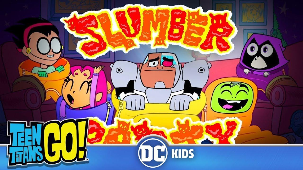 Teen Titans Go! En Español   Pánico en la Pijamada   DC Kids