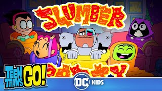 Teen Titans Go! En Español | Pánico en la Pijamada | DC Kids