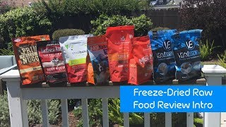 Freeze-Dried Raw Pet Food Review Intro- TOP 6 NATIONAL BRANDS