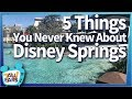 FUN FACTS & Hidden Gems You NEED to Know About at Disney World's Disney Springs