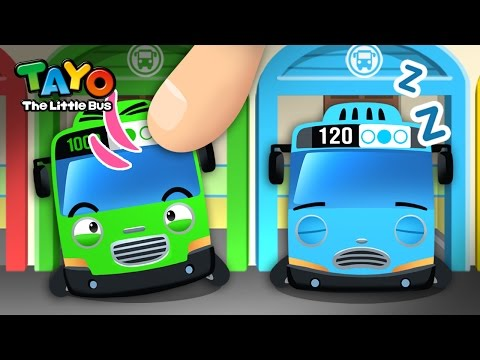 Wake Up L Habit Game #1 L Learn Street Vehicles L Tayo The Little Bus