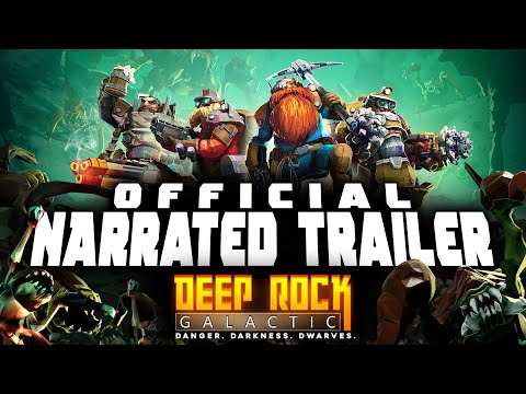 Deep Rock Galactic - Official GSG Narrated Trailer