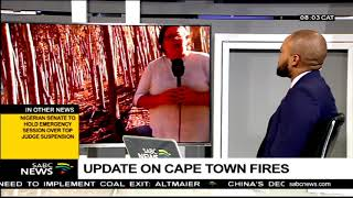 Latest on Cape Town fires