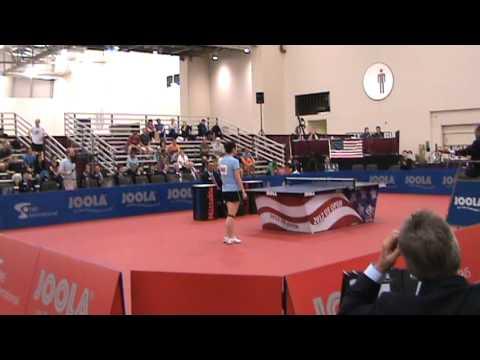 Adoni Maropis vs. Ken Ping, US Open Table Tennis Video Snapshots 2012 07/04 13:31:29