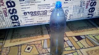 Простейшая мышеловка из бутылки за 1 минуту