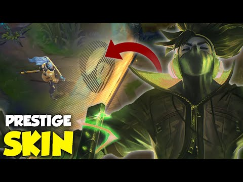 Yasuo's Prestige Skin Was Finally Revealed And It Looks...