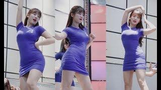 180804 댄스팀 레이디비 유빈 직캠 - 빙글뱅글 (AOA) (동대문 굿모닝시티) By 애니닷