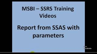 MSBI - SSRS - Report from SSAS with parameters