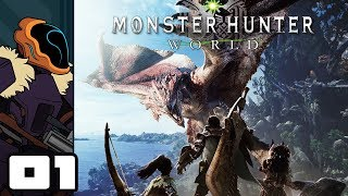 Let's Play Monster Hunter World - PS4 Gameplay Part 1 - Welcome To The New World